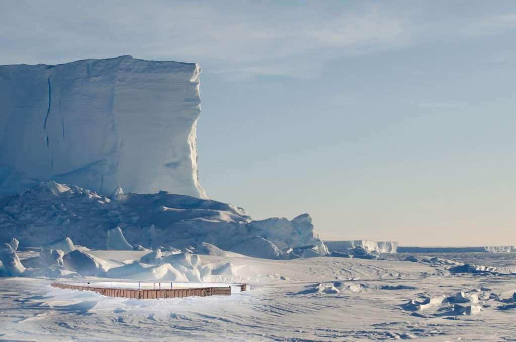 Antarctica rink mockup